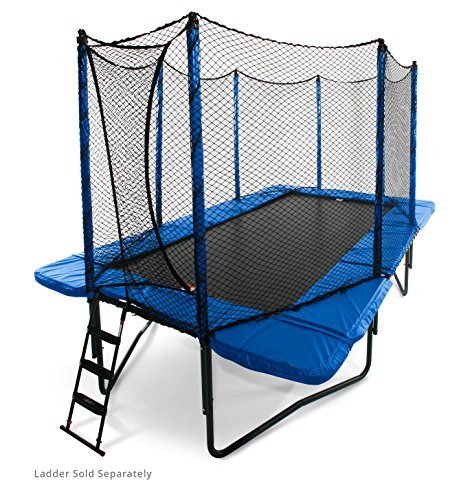 JumpSport StagedBounce Rectangle Trampoline