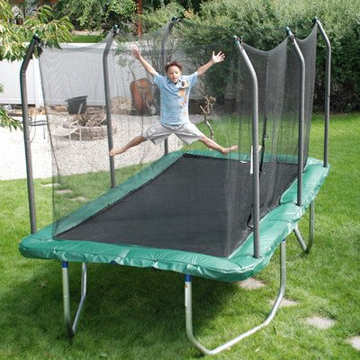 Summit 14 Inch Rectangle Trampoline