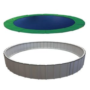 In-ground upgrade trampoline
