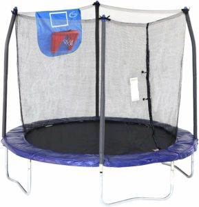 Skywalker 8ft Trampoline Jump N Dunk