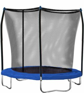 Skywalker 8ft Round Trampoline with Enclosure