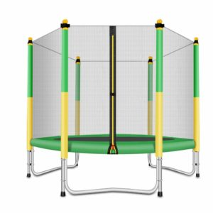 FashionSport Outfitters 6ft Trampoline with Safety Enclosure