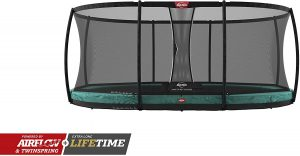 Berg oval inground trampoline 17ft
